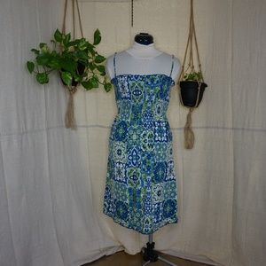 Ann Taylor Loft Smocked sundress